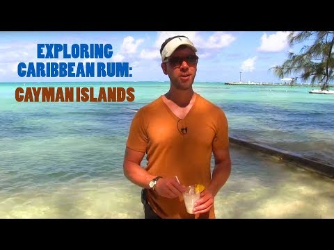Carribean Rum in Grand Cayman (Seven Fathoms Rum)