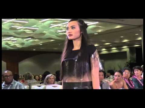 "Gabrielle Sanehira: ""Mod Nouveau"" UHM fashion show 2015"
