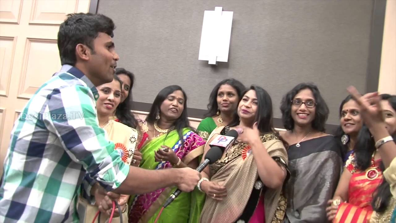 Women from Local members from Chicago speaking to Desiplaza TV at ATA Convention 2016.