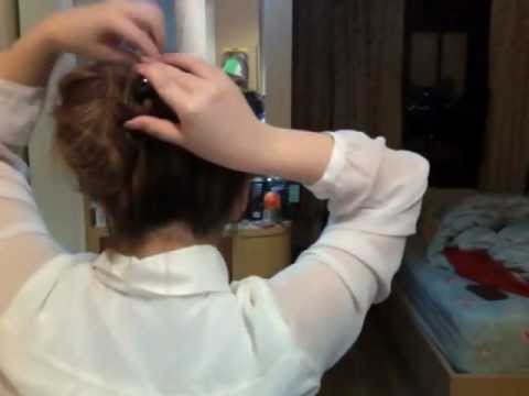 Easy Hair Updo : Messy Side Bun มวยผมยุ่งๆน่ารักนะ