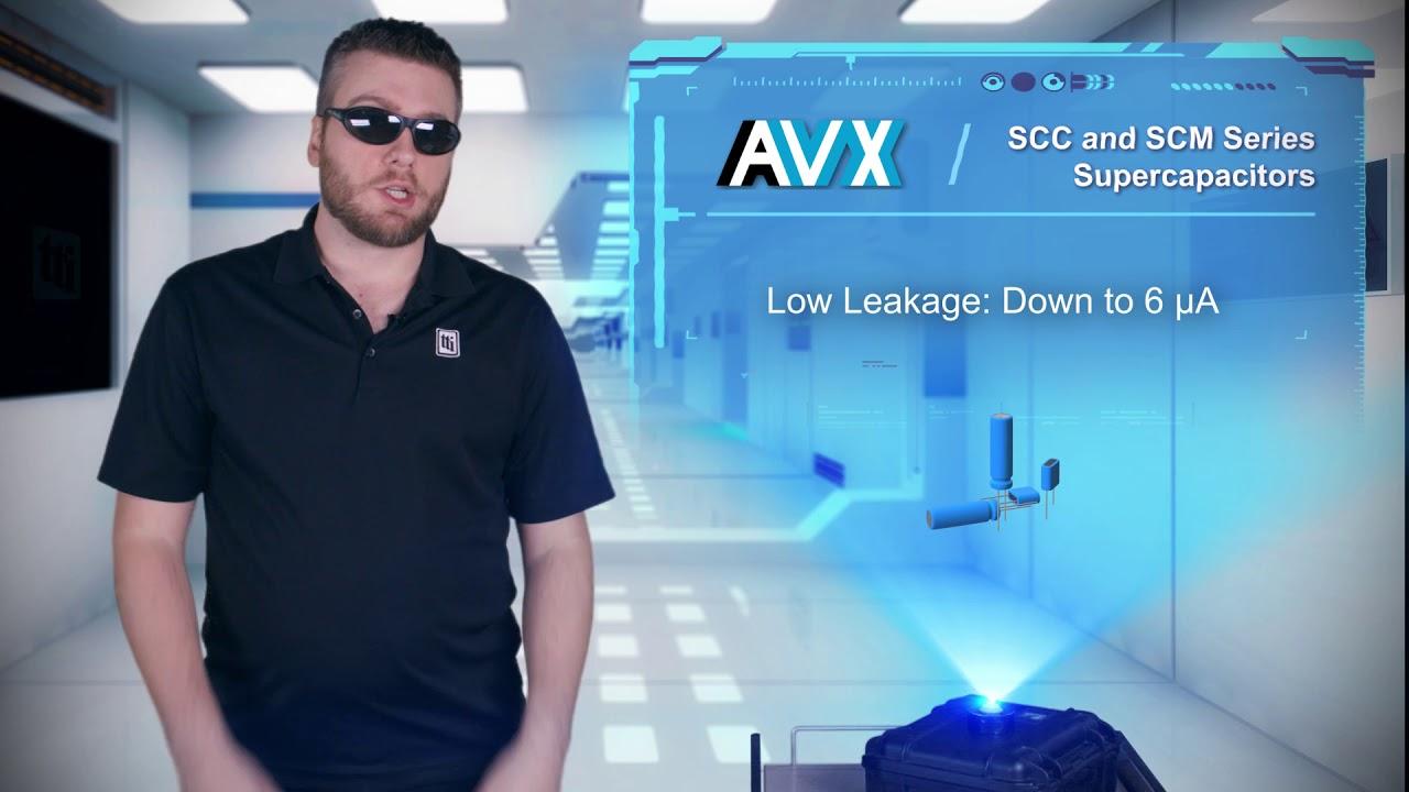AVX SCC & SCM Series | TTI Tech Specs