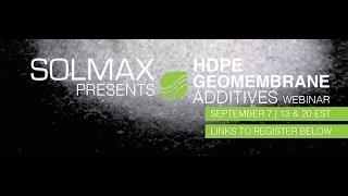 видео Геомембрана HDPE Solmax