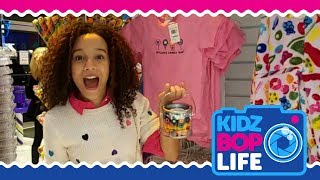 KIDZ BOP Life: Vlog # 4 - Ahnya meets fans at Dylan's Candy Bar in NYC