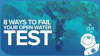 8 Ways To Fail Your Open Water Test