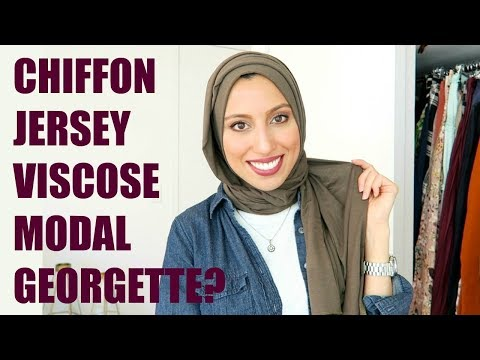 All Hijab Fabrics Explained!