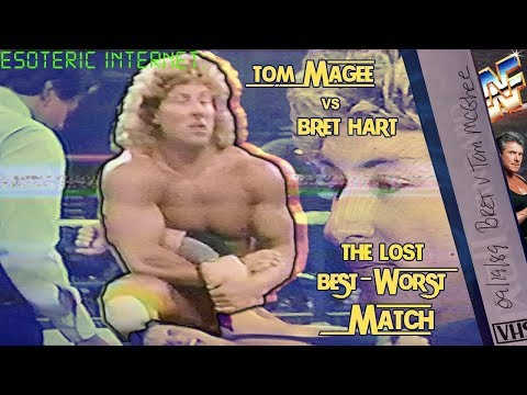 Tom Magee Vs Bret Hart, The Lost Best-Worst Match | Esoteric Internet