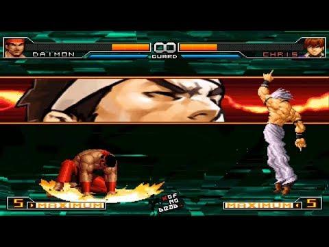Daimon DM SDM Oculto vs Orochi Chris Oculto KOF 2002 UM