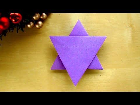 Origami Weihnachten Nikolausmütze Basteln Mit Papier Diy