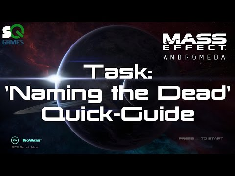 Mass Effect: Andromeda quick-guide Naming the Dead Task all colonist body locations