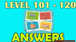 Pictoword Level 101 - 120 - All Answers - Walkthrough ( By Kooapps LLC )