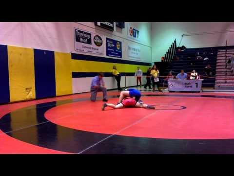 2014 Ontario Juvenile Championships: 52 kg Sofia Liantzakis vs. Mikayla Jerald