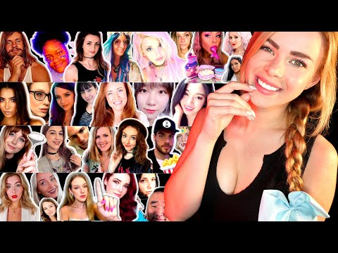 ASMR IMPERSONATIONS OF 30 ASMRTISTS!! (Relaxing & Funny Impressions)