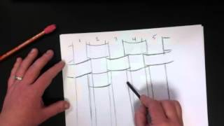 Drawing a basket part 1