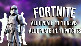 Fortnite Update 11.11 | Patch Notes & News