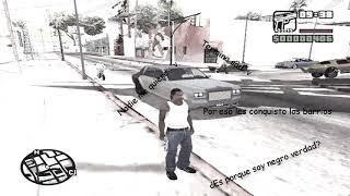 CJ Se Quiere UNIR A Los BALLAS | GTA San Andreas - LOQUENDO