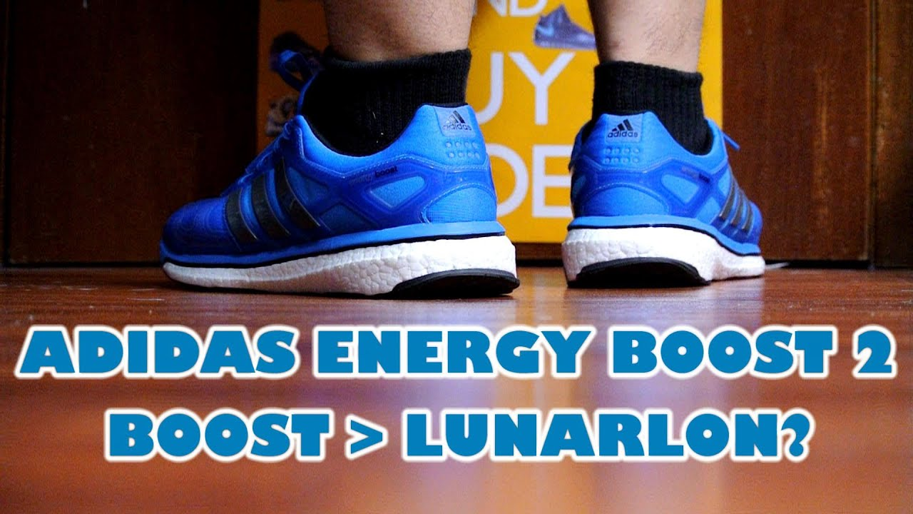 adidas energy boost 2 black blue
