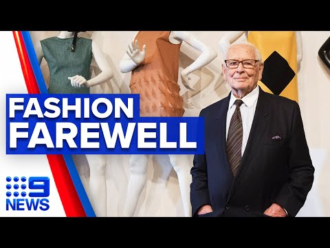 Designer Pierre Cardin dies aged 98 | 9 News Australia thumbnail