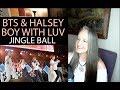 أغنية Voice Teacher Reaction to Boy With Luv with Halsey @ BTS 방탄소년단 Jingle Ball LA Live Concert 2019
