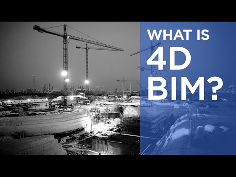 What is 4D BIM? | The B1M - YouTube