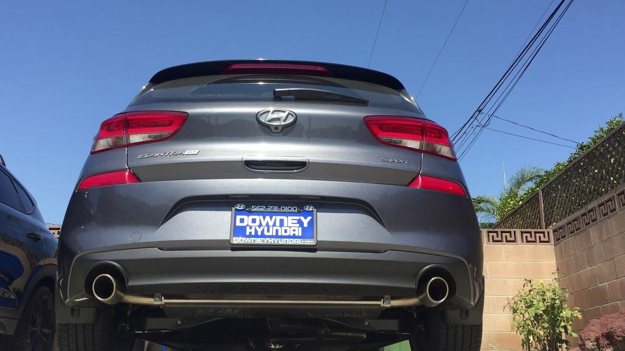 2018 Hyundai Elantra Gt Sport 1 6t Stock Exhaust Youtube