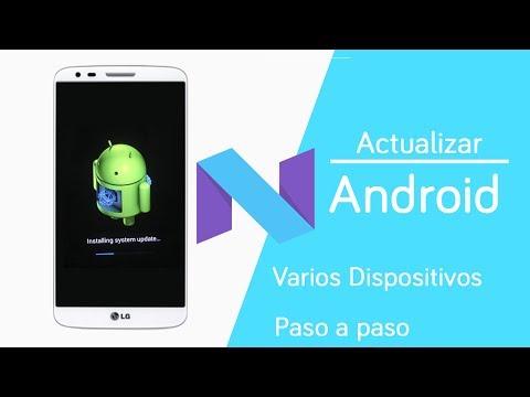 Actualizar casi cualquier Android a la ultima version de | Android 7.1.2 | Paso a paso - Ayala Inc