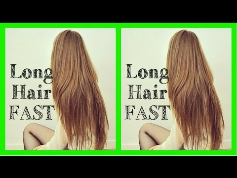 how to get long hair as a guy