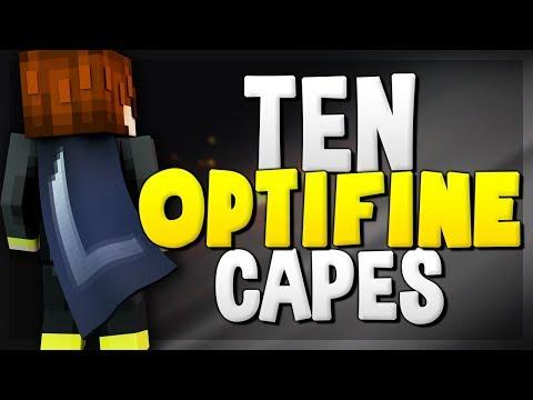 10 Optifine Cape Designs! (Best Minecraft Cape Designs)