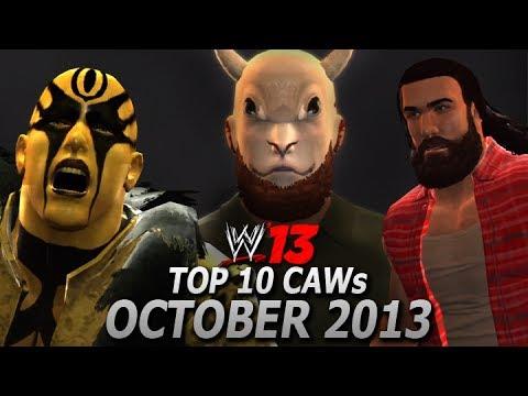 WWE '13: Top 10 CAWs (October 2013)