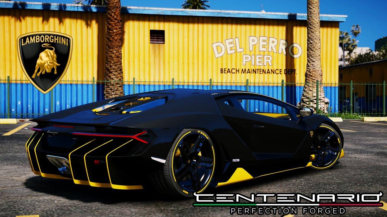 Lamborghini Centenario Lp770 4 Add On Oiv Gta5 Mods Com
