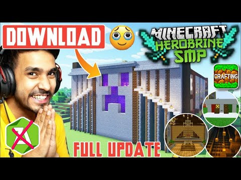 How To Get Herobrine Smp Latest World In Crafting And Building | Without Zarcheiver