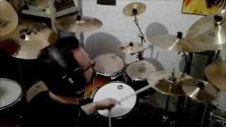 Thin Lizzy Johnny The Fox Drum Cover Minaki