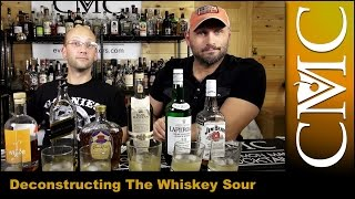 Deconstruction: The Whiskey Sour / 6 Brands of Whiskey