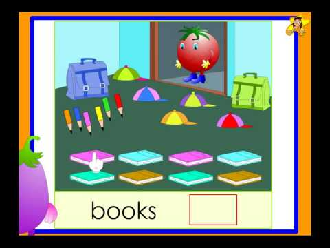 Kindergarten count with Tomzi worksheet - counting up to 10