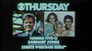 AS THE WORLD TURNS  & HAWAII 5-O BUMPER 1978