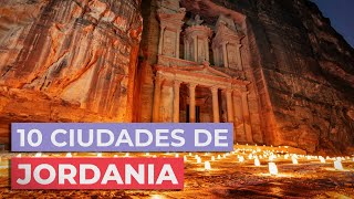 10 Ciudades de Jordania 🇯🇴 | Para descubrir