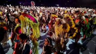 GATHERING OF NATIONS POW WOW 2019   Day 2  Grand Entry Day 2 Morning