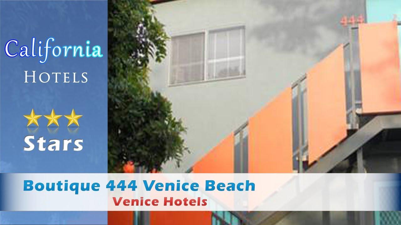 Boutique 444 venice beach venice hotels california for Boutique hotel 444