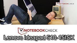 Lenovo 510 15 laptop. Review and test results (940MX + 1TB version)