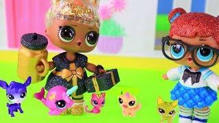 День Рождения Куклы Лол Сюрприз! Мультик с Сюрпризами Lol Surprise & LPS