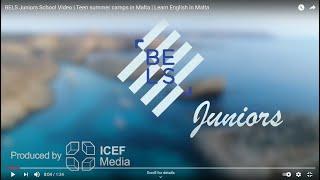 BELS Juniors School Video   Teen summer camps in Malta   Learn English in Malta