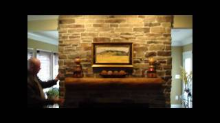 Fireplace Stone Veneer Video