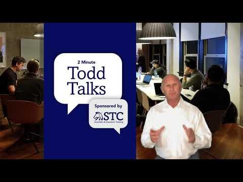Todd Talks Continuing Education