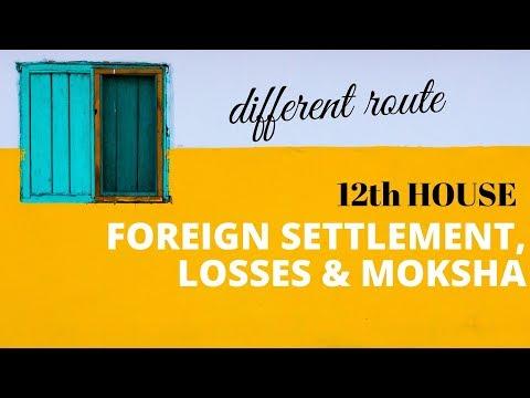 ASTROLOGY - 12th HOUSE OF FOREIGN SETTLEMENT, LOSSES & MOKSHA