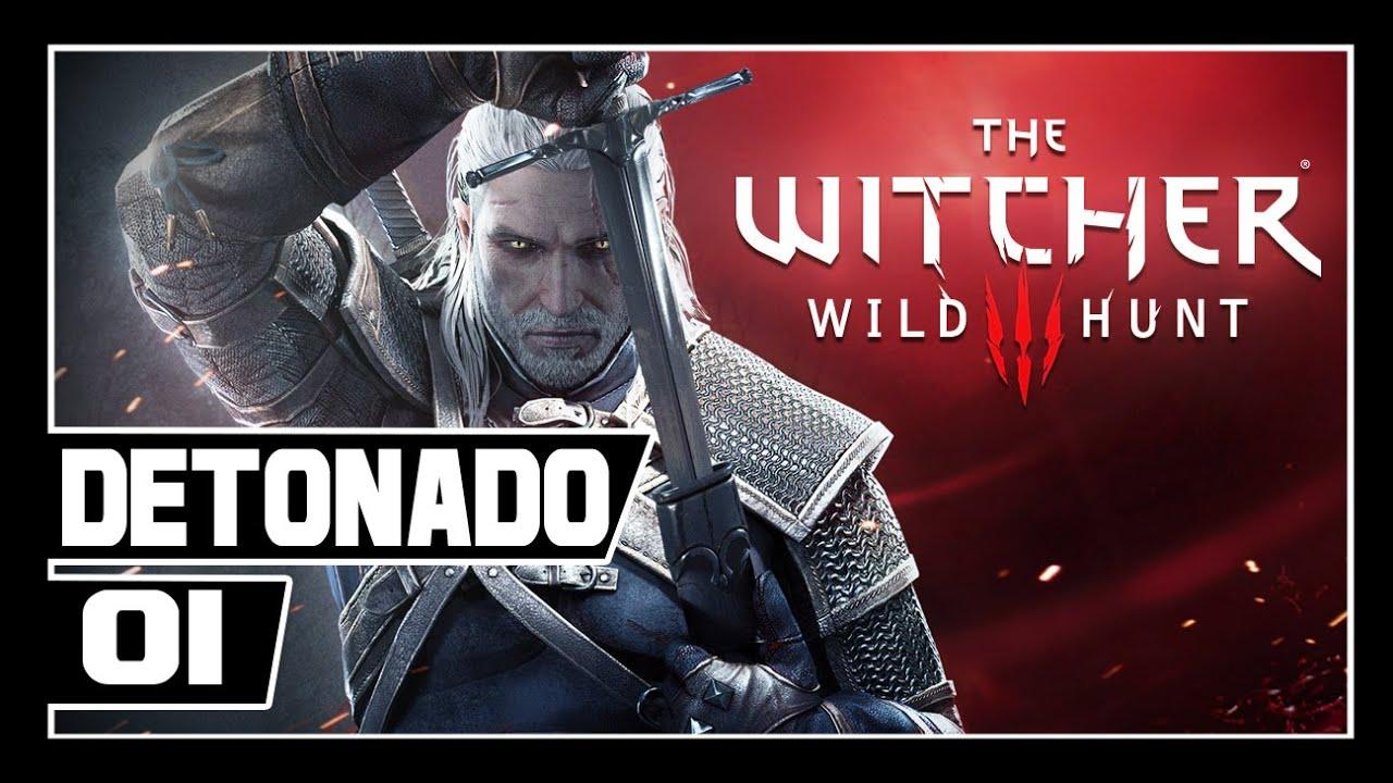 The Witcher 3: Wild Hunt Detonado - Parte #1 - O INICIO!! - Dublado [PT-BR]