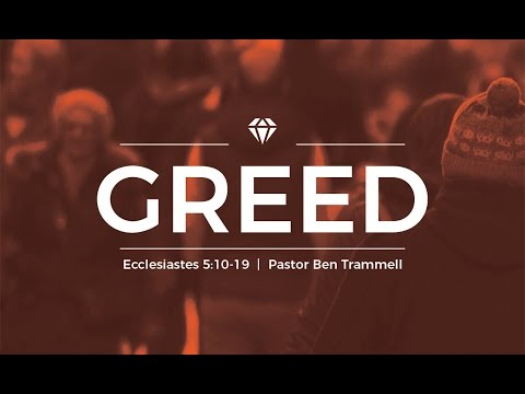 The U: Greed, Traditional Worship, April 2, 2017