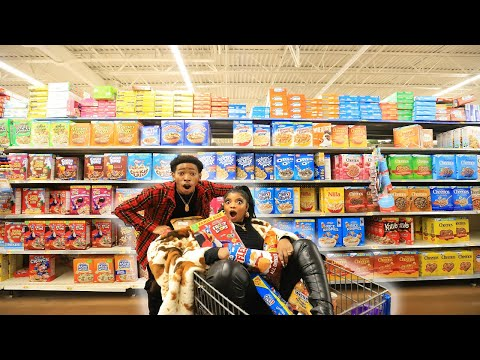 CRAZY GROCERY SHOPPING