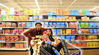 CRAZY GROCERY SHOPPING CHRONICLES WITH DK4L | VLOGMAS DAY 9
