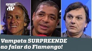 O Flamengo está ARROGANTE? Vampeta cita Mauro Cezar e SURPREENDE em resposta!