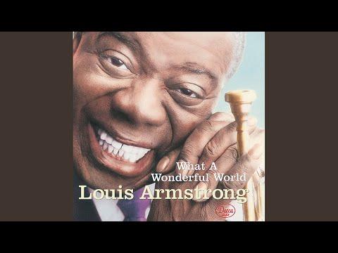 Louis armstrong what a wonderful world (lyrics) youtube.