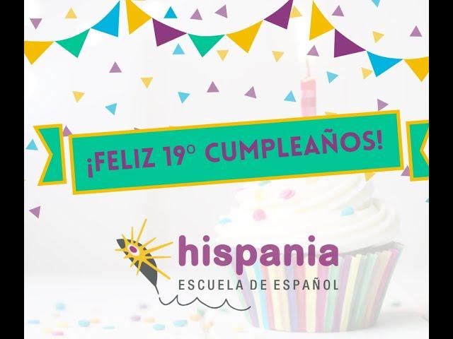 🎉🎂¡FELIZ 19º CUMPLEAÑOS, HISPANIA! 🎂🎉